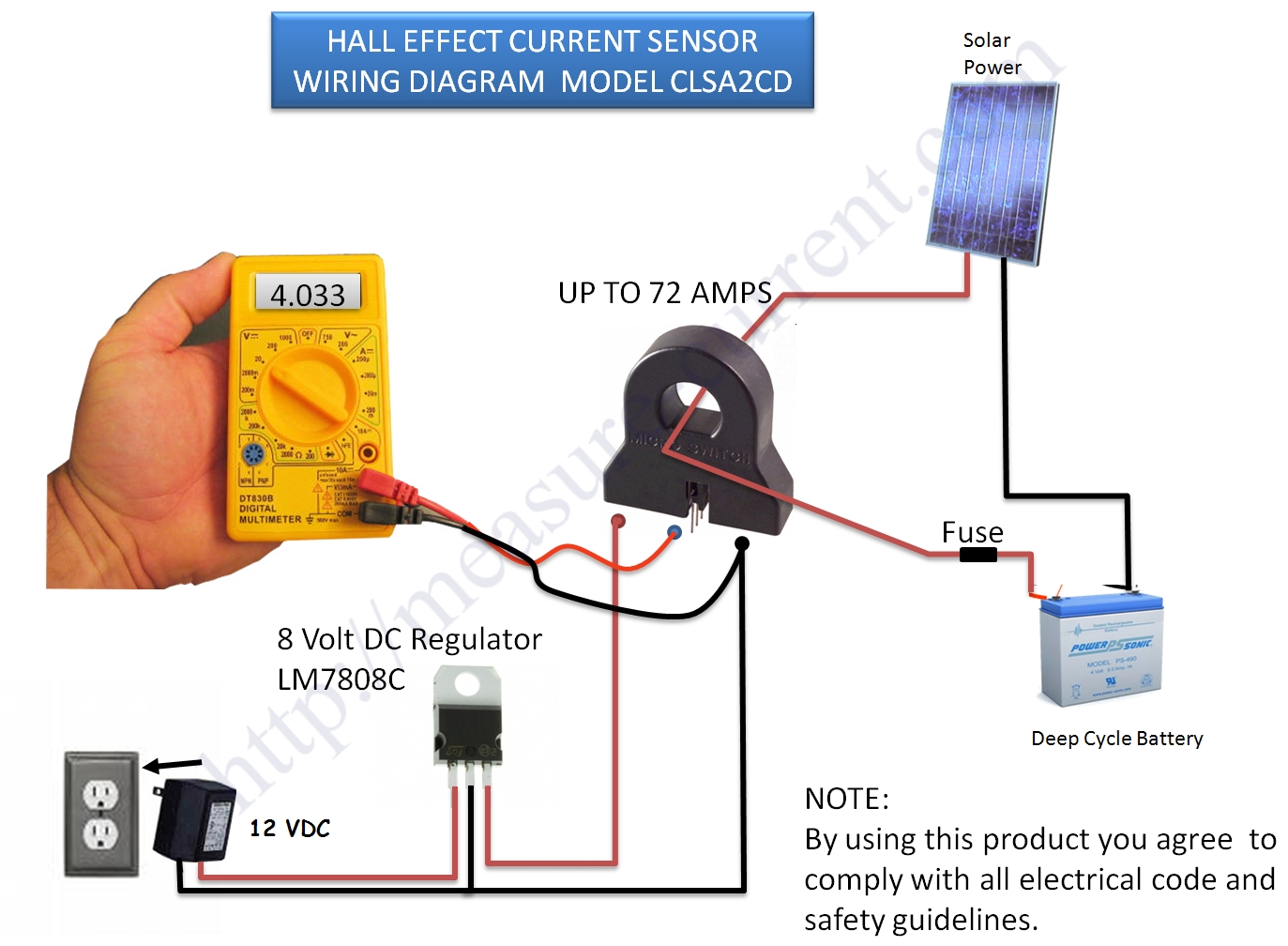 Hall Effect Sensor Arduino Wiring Diagrams For Dummies Thermistor 10k Circuit Current Switch